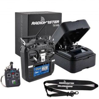Radioimaster TX16s HALL mit Umhängeband und Schlüsselanhänger