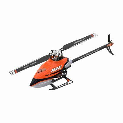 OMP M2 V2 RC Helicopter Orange