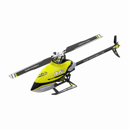 OMP M2 V2 RC Helicopter Yellow